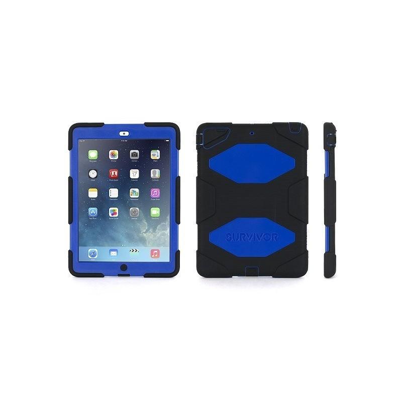 Griffin Survivor Extreme Duty hardcase iPad Air blauw-zwart