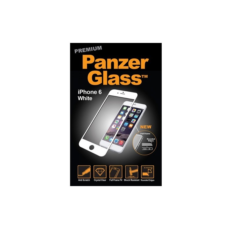PanzerGlass Premium iPhone 6(S) wit