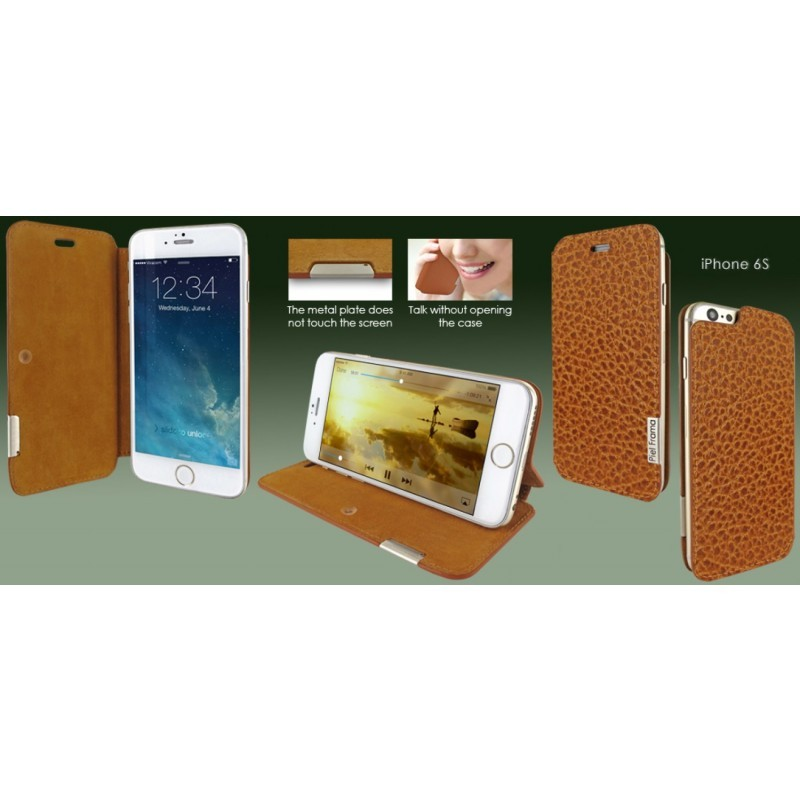 Piel Frama FramaSlim iPhone 6(S) iForte Tan