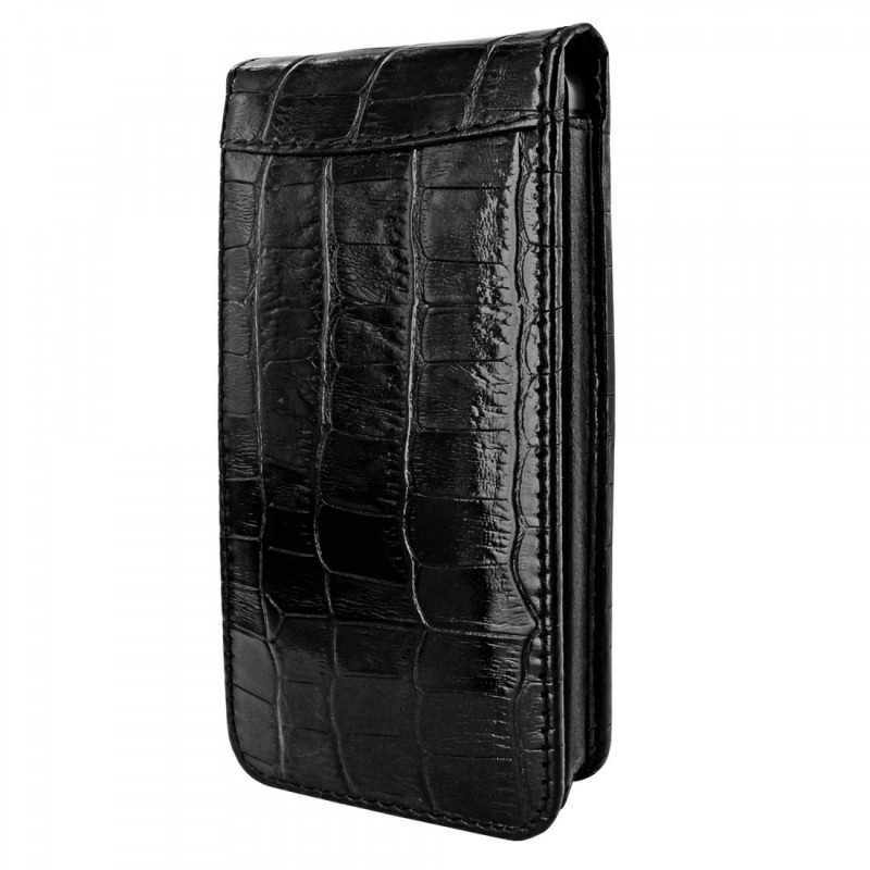 Piel Frama Magnetic iPhone 5(S)/SE Crocodile zwart