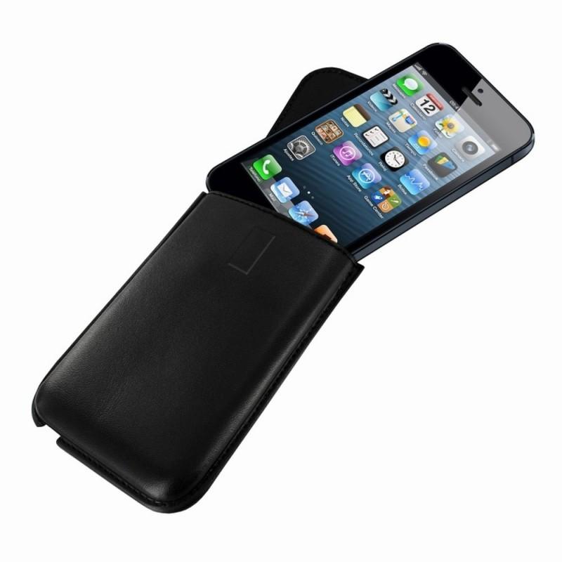 Piel Frama Unipur iPhone 5C/S/SE Sleeve zwart