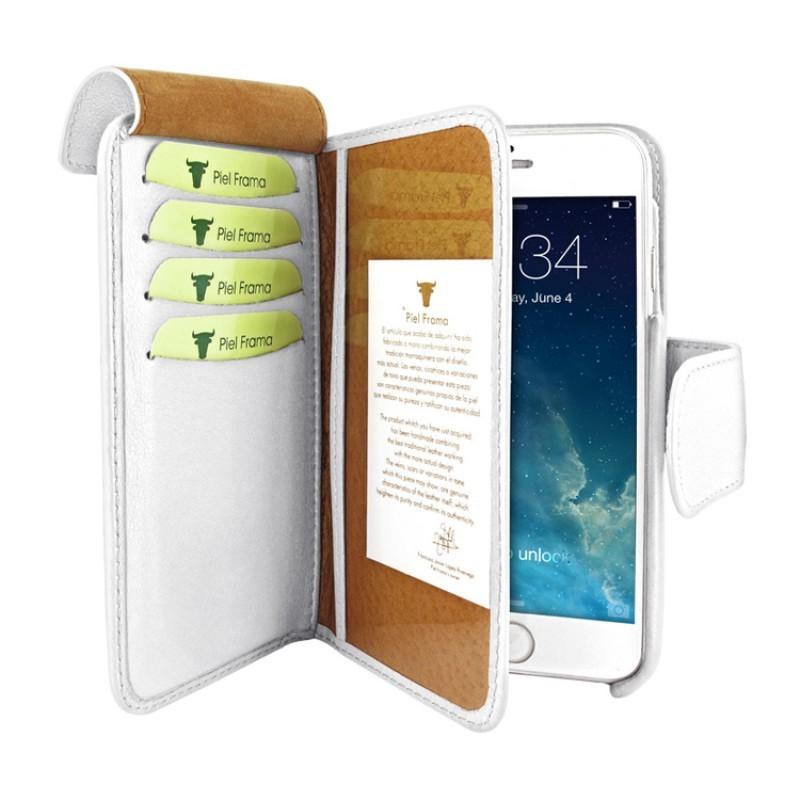 Piel Frama Wallet iPhone 6(S) wit