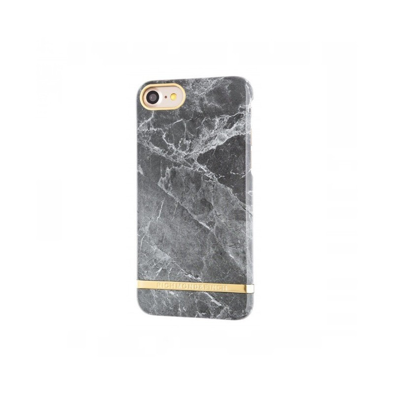 Richmond and Finch Marble Glossy iPhone 7 / 8 grijs