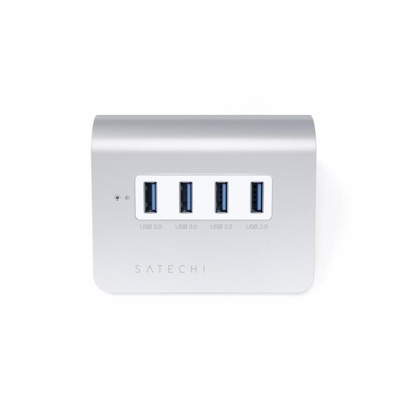 Satechi USB-Hub 4-Port Aluminium