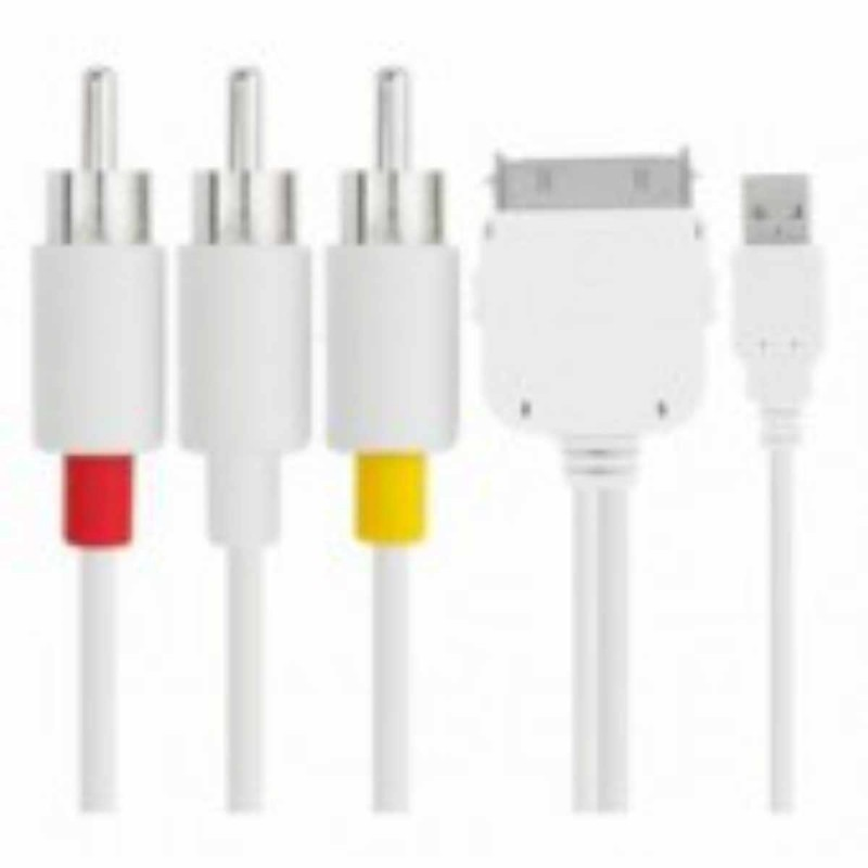 Composietkabel met USB-aansluiting
