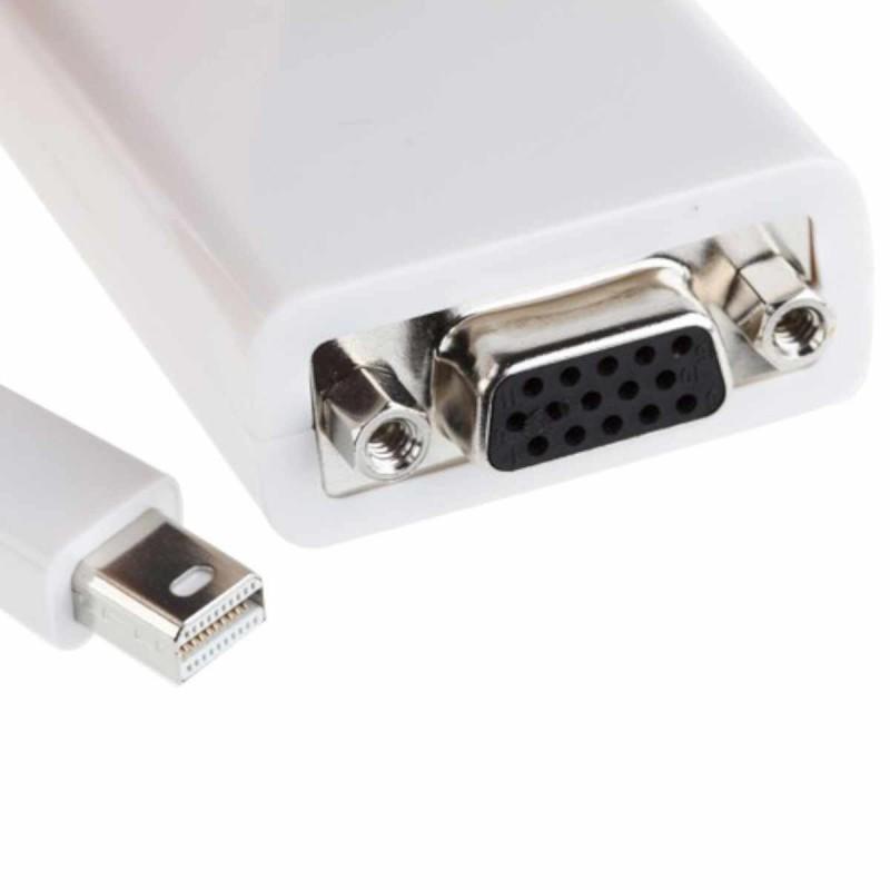 Mini DisplayPort-naar-VGA-adapter