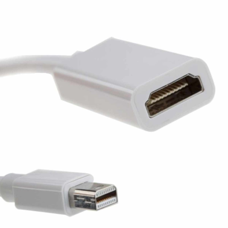 Mini DisplayPort-naar-HDMI-adapter (met audio)