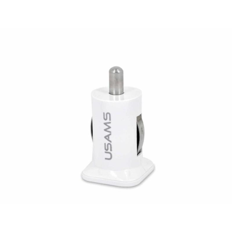 Usams Dual USB-autoadapter
