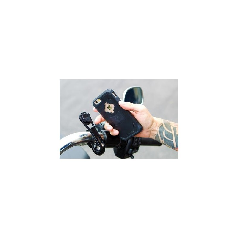 Rokform Polished Alu Motorcycle Handlebar Mount zilver