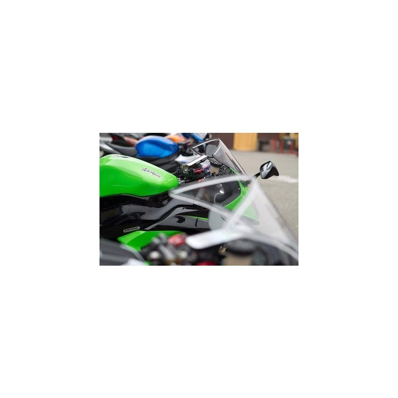 Rokform Motorcycle Fork Clamp Phone Mount zwart (50mm)
