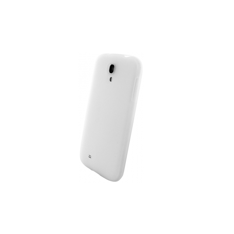 Mobiparts Siliconen Case Galaxy S4 wit
