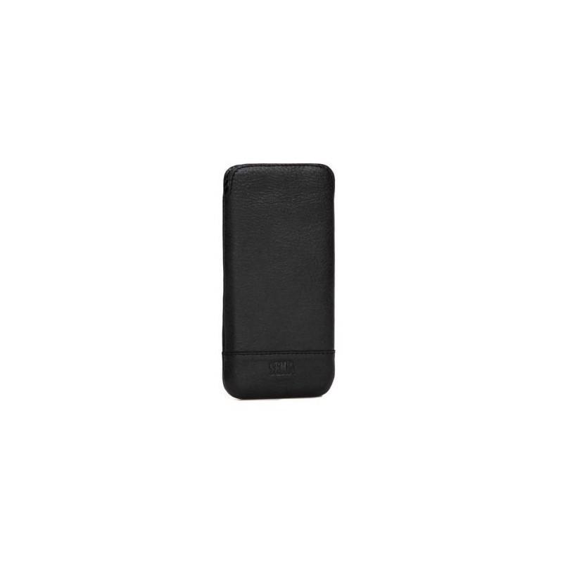 Sena UltraSlim Heritage Pouch leer iPhone 6 zwart