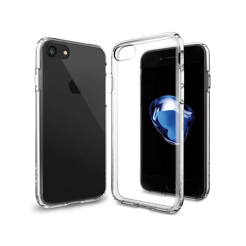 Spigen Ultra Hybrid iPhone 7 transparant