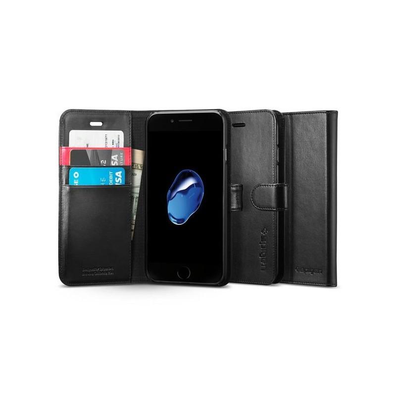 Spigen Wallet S iPhone 7 zwart