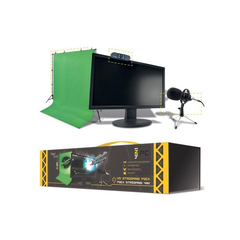 Steelplay Pro HD Streamers Pack 4 in 1