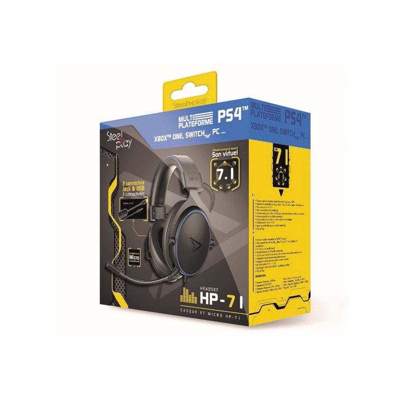 Steelplay Wired Headset HP71