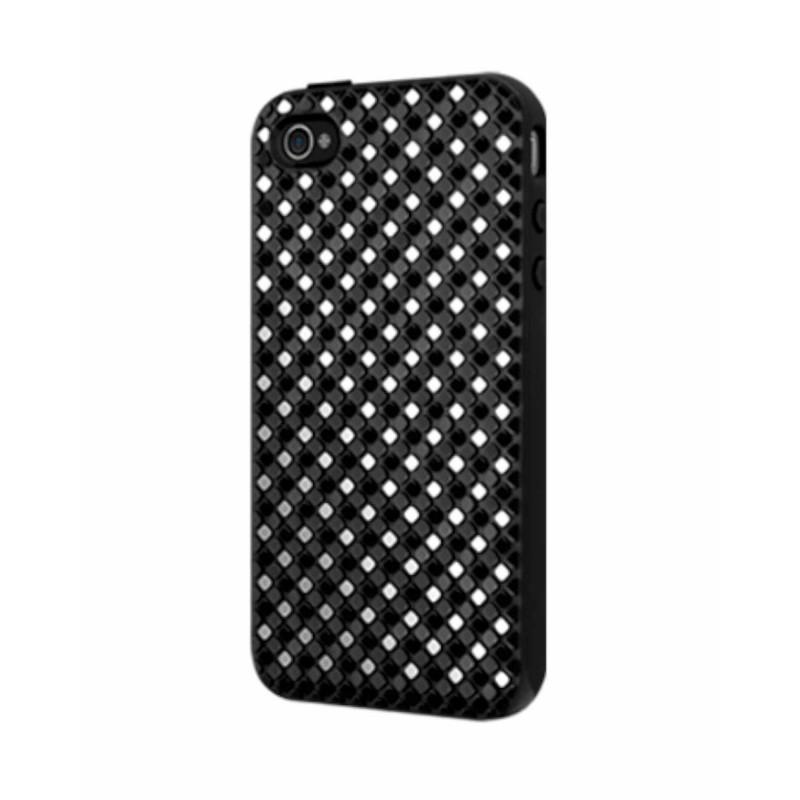 SwitchEasy Hard Case Glitz iPhone 4(S) zwart