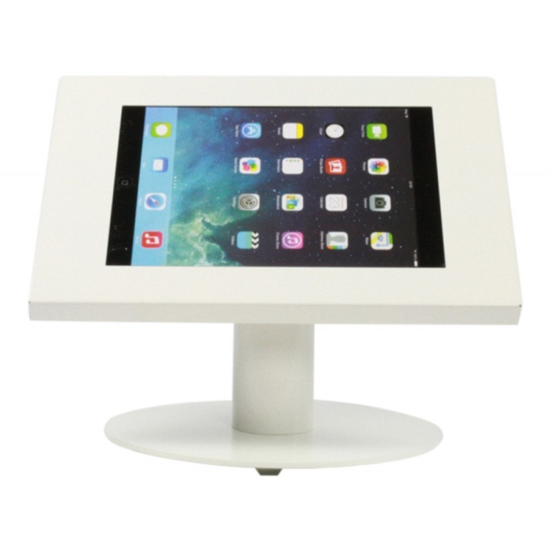 Tablet tafelstandaard Silver iPad en Galaxy Tab wit