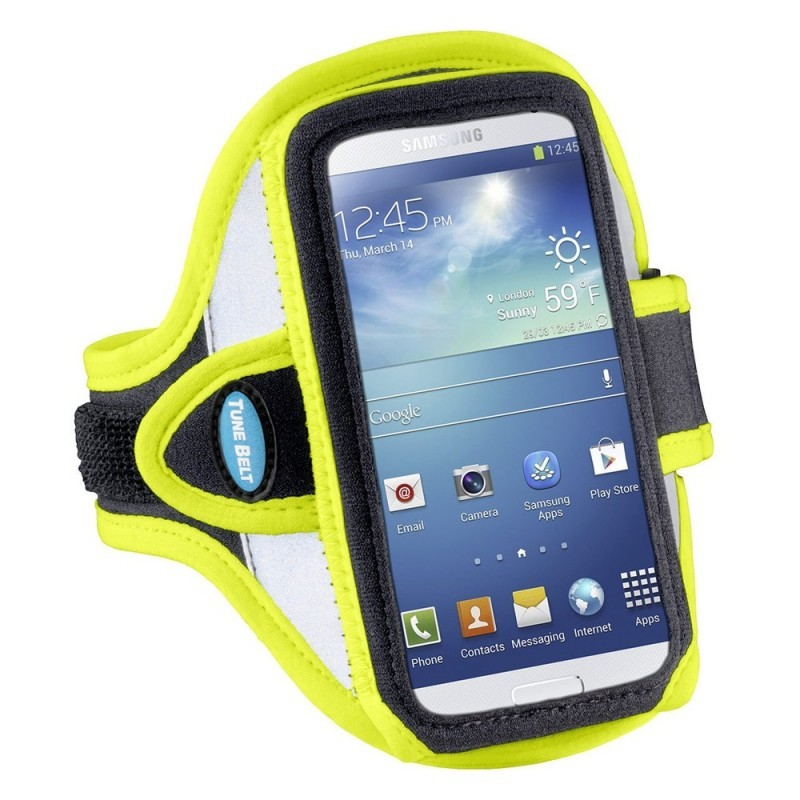 Tune Belt Sport armband AB86RY iPhone 6(S)/7/8 geel