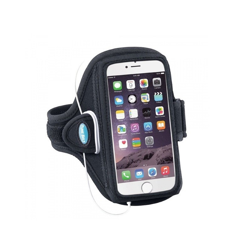 Tune Belt Sport armband iPhone 6 Plus zwart