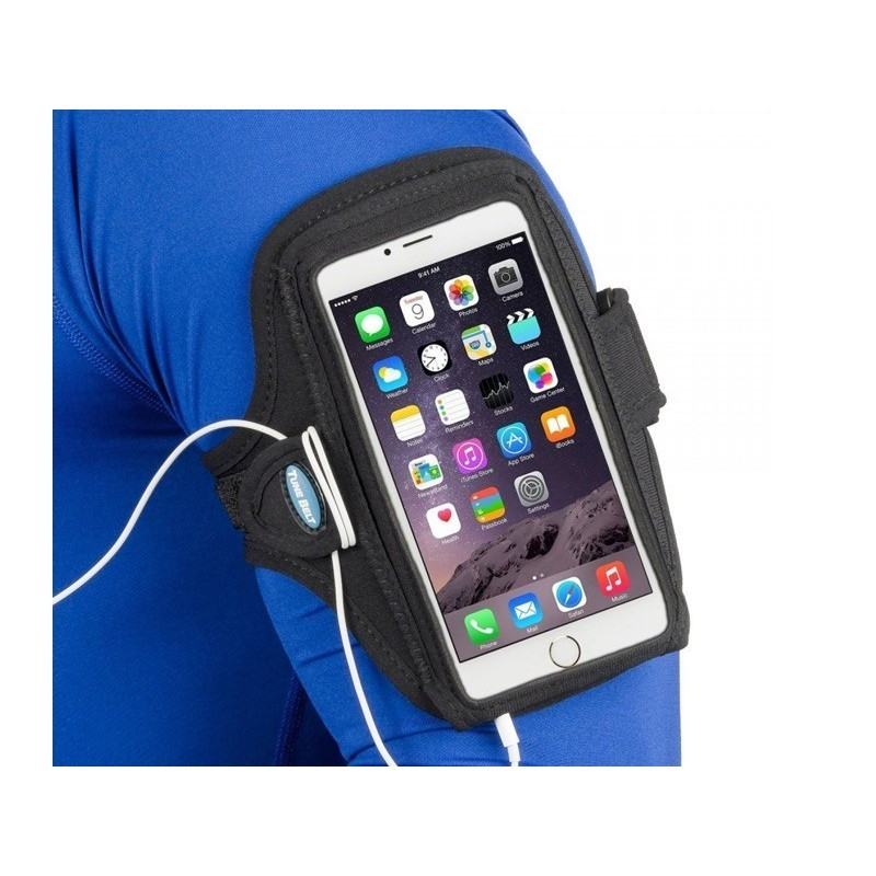 Tune Belt Sport armband iPhone 6S Plus zwart