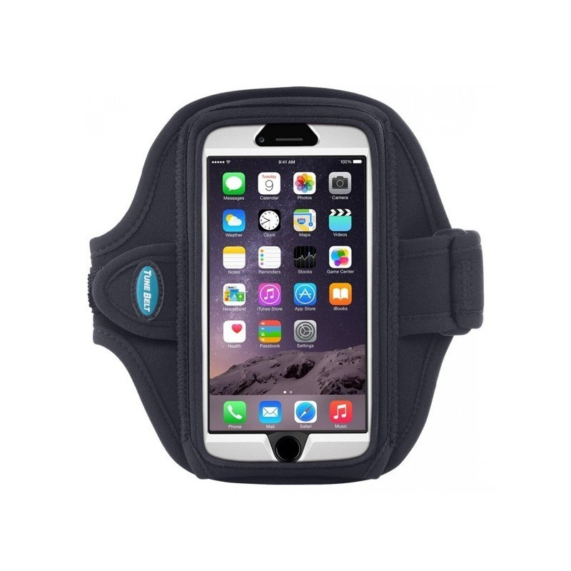 Tune Belt Sport armband iPhone 6 zwart