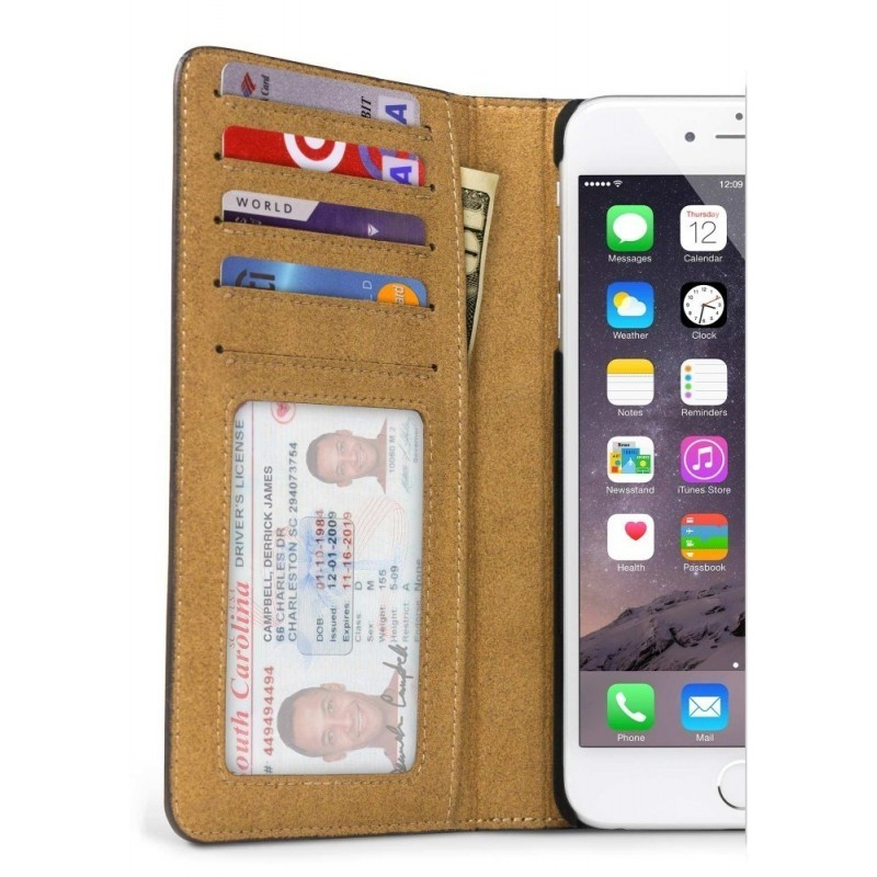 Twelve South BookBook iPhone 6 bruin