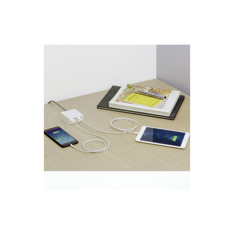usbepower HIDE Mini+ 27W 4-in-1 table charger wit