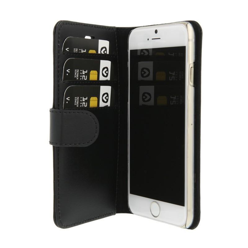Valenta Booklet wallet case classic (book case leder) iPhone 6 zwart