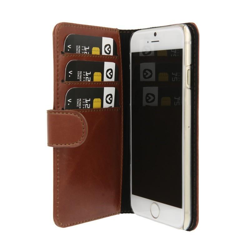 Valenta Booklet wallet case classic iPhone 6 bruin