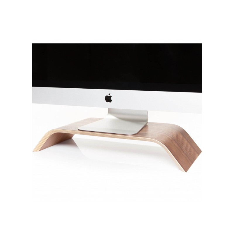 Woodcessories ecolift iMac stand walnoot