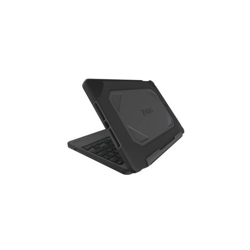 ZAGG iPad Pro 9.7 Bluetooth Keyboard Rugged Folio Case QWERTY zwart
