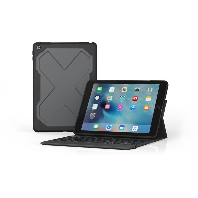 ZAGG Rugged Messenger Keyboard iPad Pro 10,5 / iPad Air 2019 UK zwart
