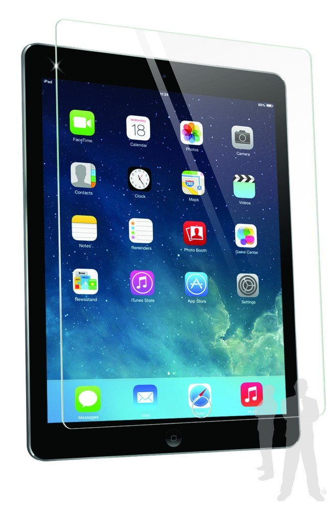 Bodyguardz Pure Glass iPad Air Screenprotector Clear