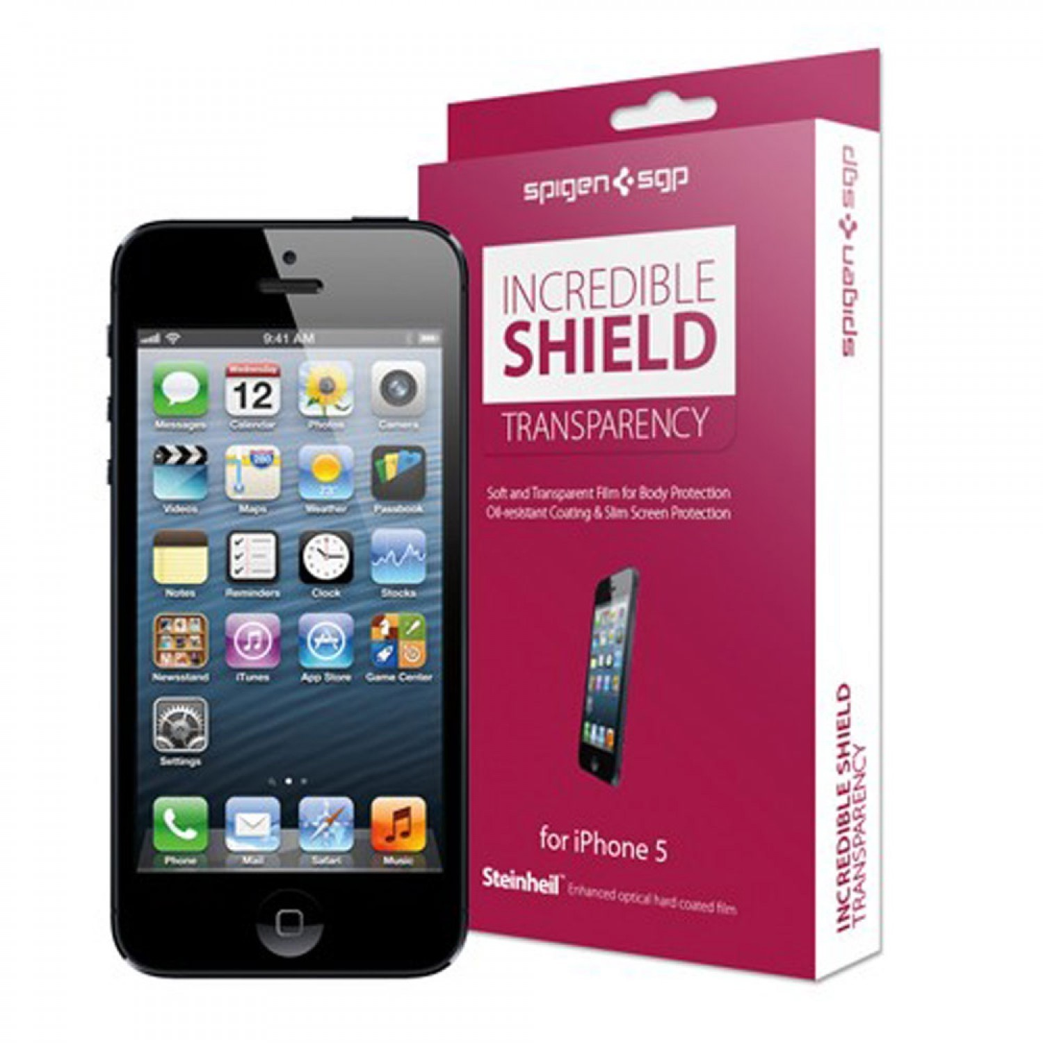 Spigen Incredible Shield 4.0 iPhone 5(S)/SE Full Body Protector