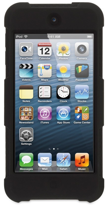 Griffin Survivor Skin iPod Touch 5G Black