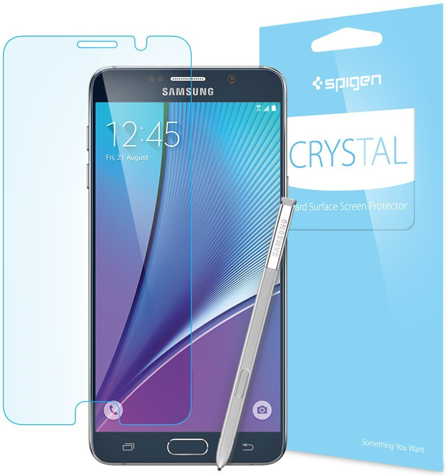 Spigen Crystal Galaxy Note 5 Screen Protector
