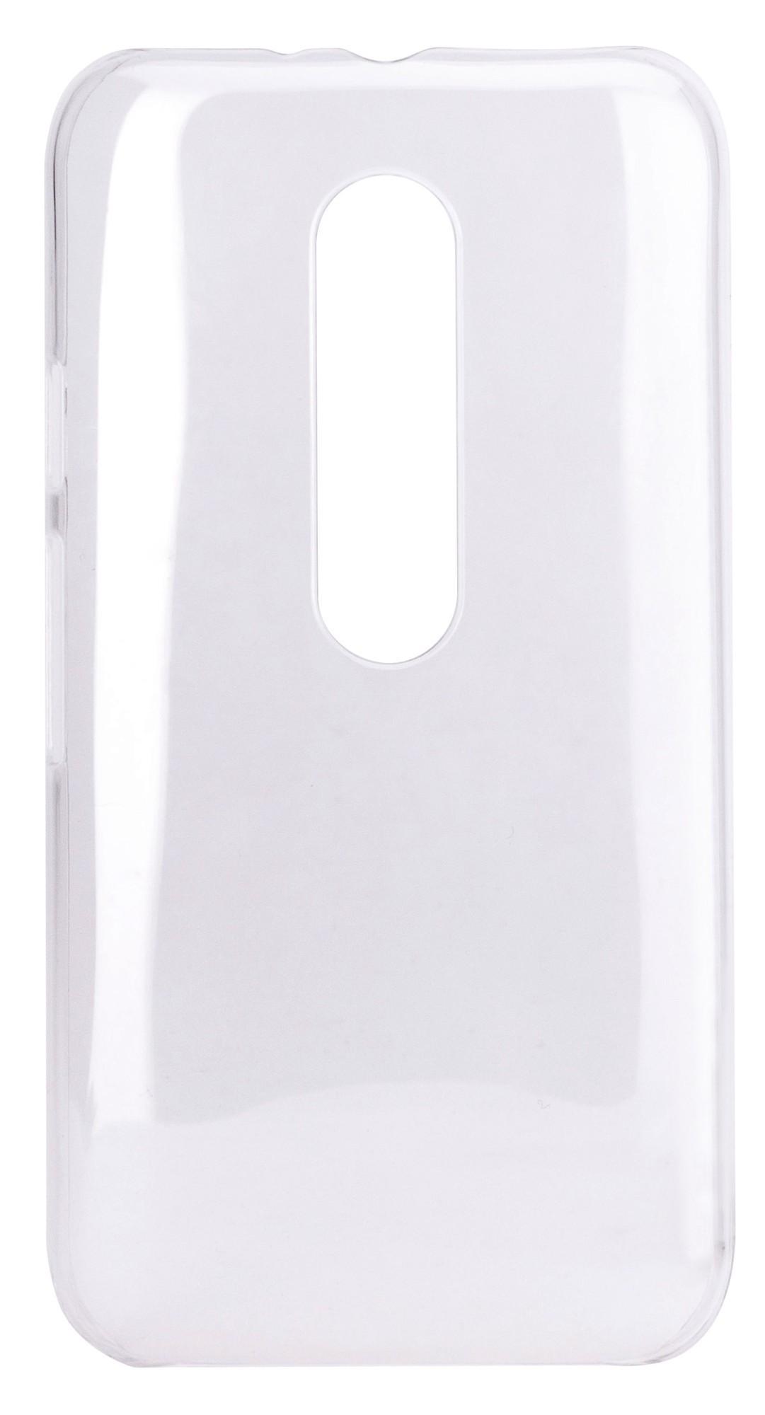Xqisit iPlate Glossy Moto G 3rd gen Clear