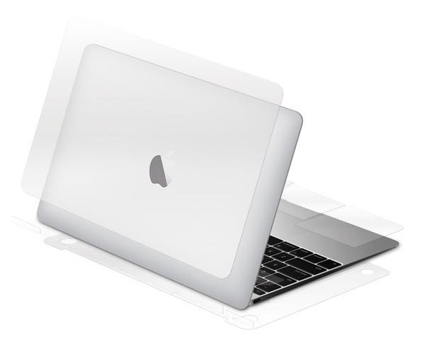 Bodyguardz UltraTough MacBook 12 inch Full Body Clear