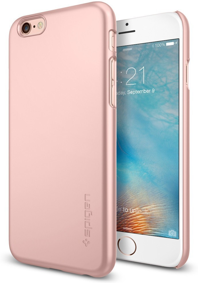 Spigen Thin Fit iPhone 6 / 6S Rose Gold