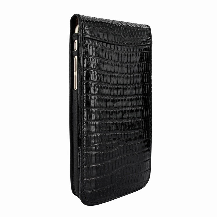 Piel Frama Magnetic iPhone 6(S) Lizard zwart