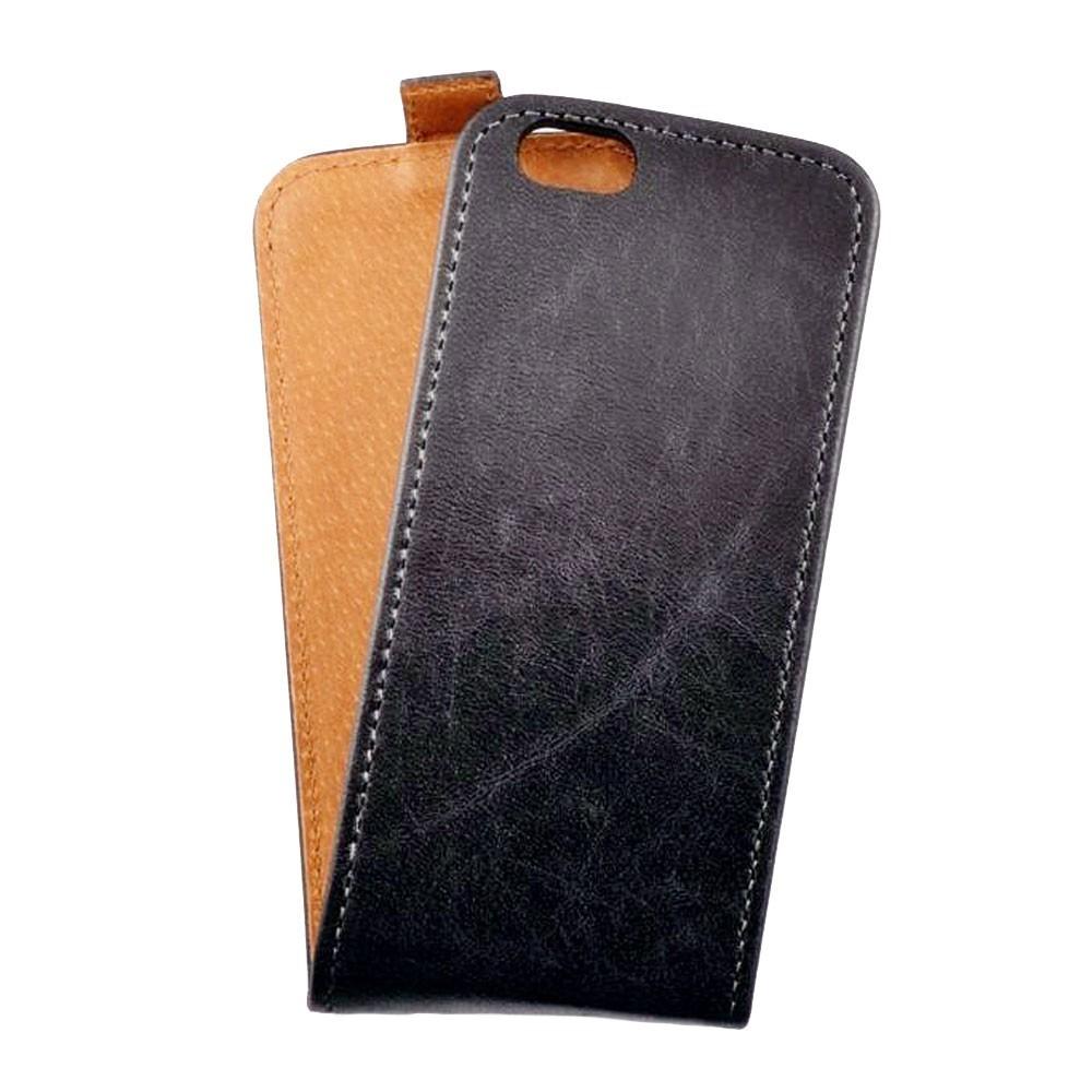 Toscana iPhone 6 Plus / 6S Plus Flip Case Black