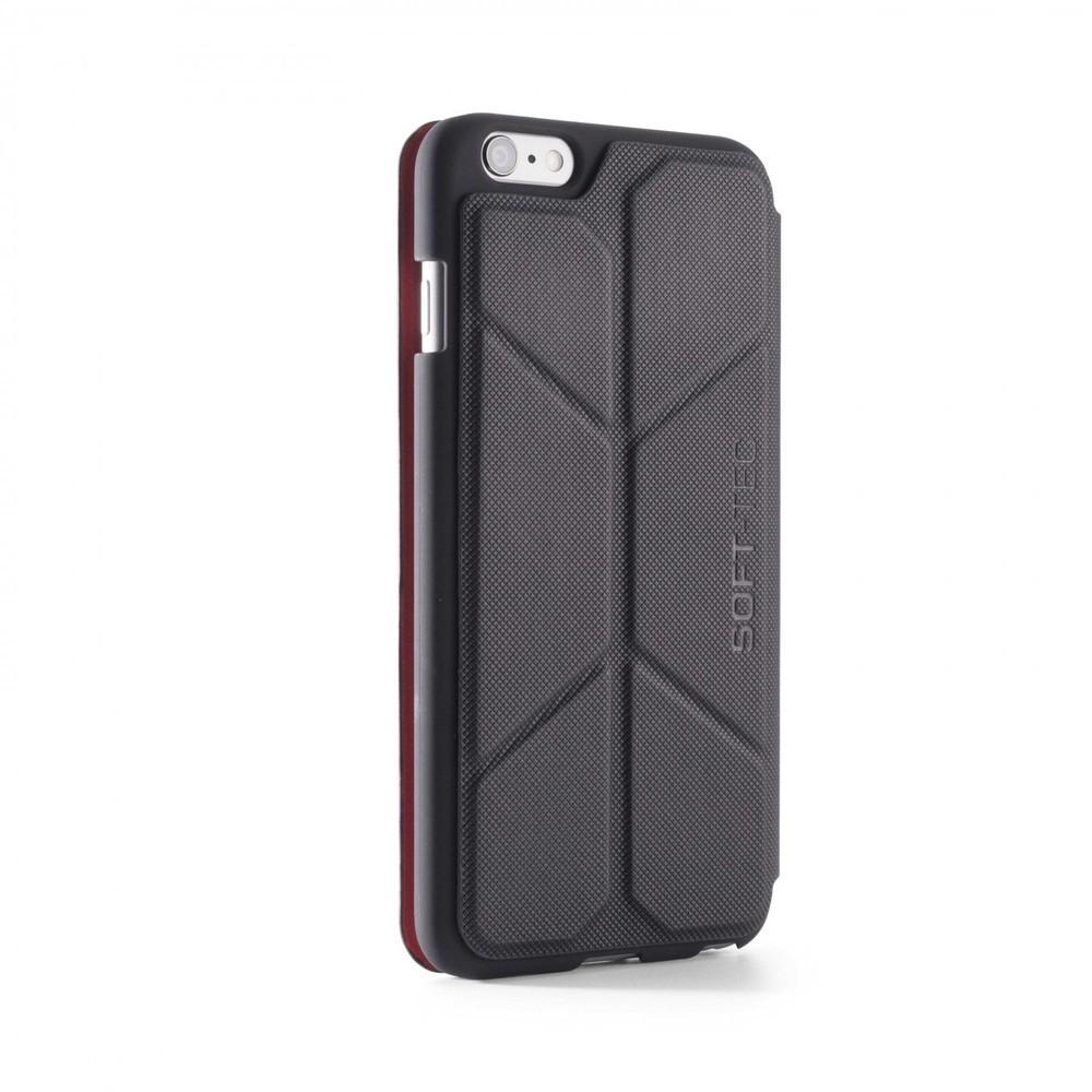 Element Case Soft-Tec Wallet iPhone 6(S) Plus zwart/rood
