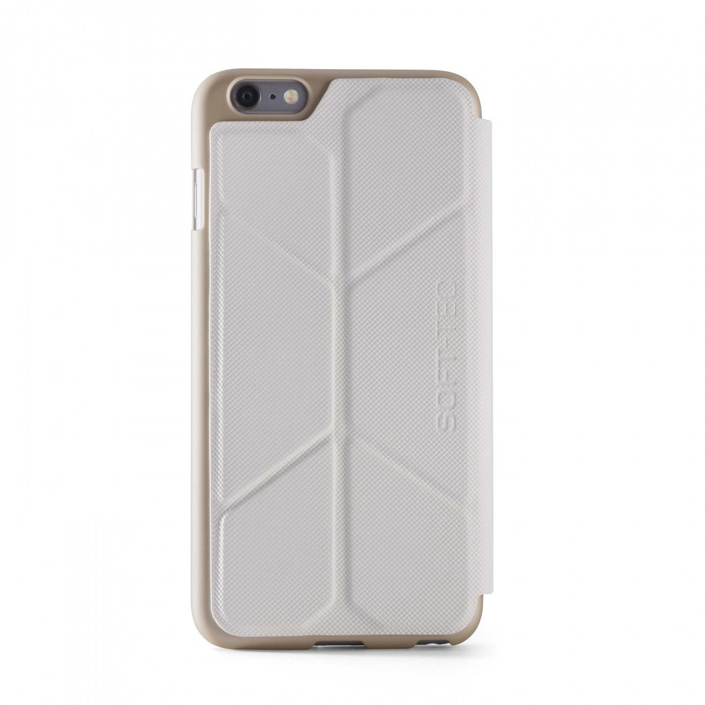 Element Case Soft-Tec Wallet iPhone 6(S) Plus wit/goud