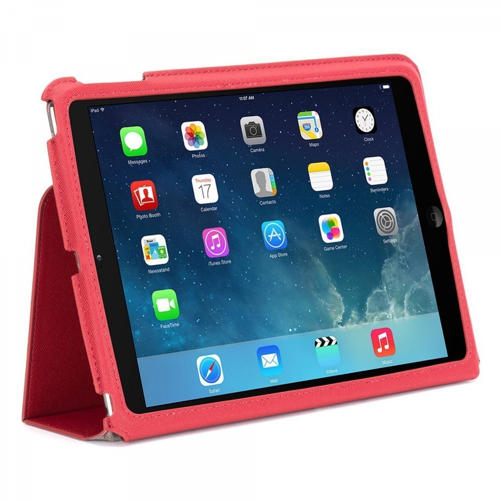 Griffin Slim Booklet case iPad Air 1 rood