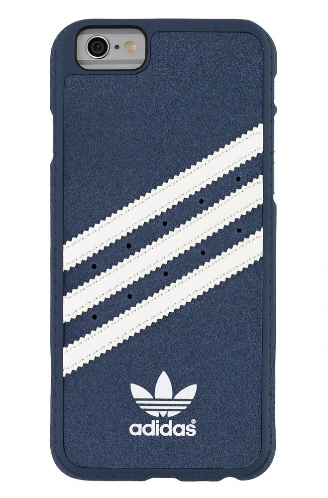 Adidas Vintage moulded case iPhone 6(S) blauw/wit
