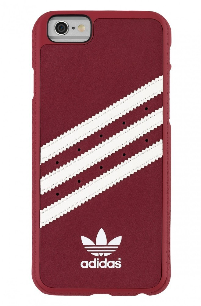 Adidas Vintage moulded case iPhone 6(S) rood/wit