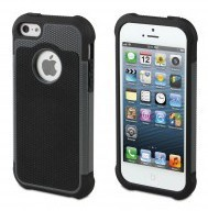 Muvit Anti-Shock Case iPhone 5(S)/SE zwart