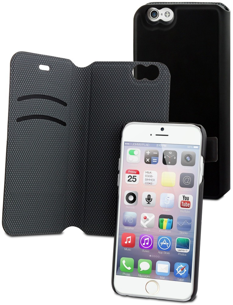 Muvit Magic Folio Case iPhone 6(S) zwart