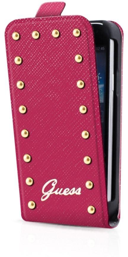 Guess Studded Galaxy S4 Mini Flip Case Pink